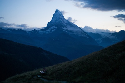 Matterhorn mountain of the Alps, Switzerland