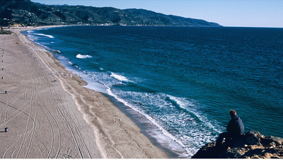 Malibu Seashore, California
